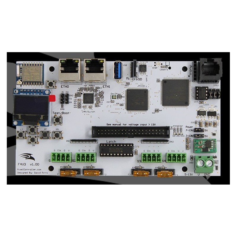 Falcon F4 v3 Pixel Controller | Pixel Controllers