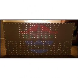 Merry Christmas Boxed Sign | Gilbert Engineering Props