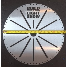 Build A Light Show - 64 Hole Tree Topper - RAW | Accessories & Hardware