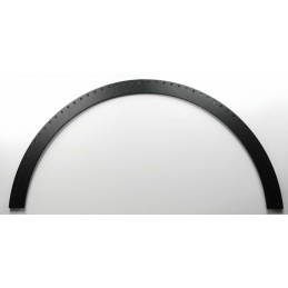 4ft Arch Double Row 10mm Coro (Black) | Gilbert Engineering Props
