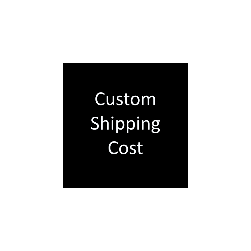 Custom Shipping Cost | Accessories & Hardware