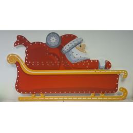 IMPRESSION Santa Sleigh - Sleigh 1 with Santa | Gilbert Engineering Props