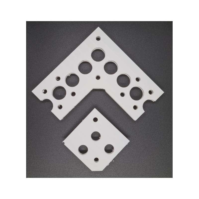Pixel Strip Corner Piece (black)   Pixel Strip System