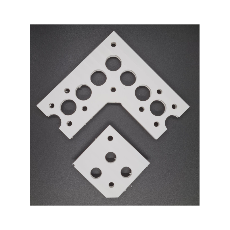 Pixel Strip Corner Piece (white) | Gilbert Engineering Props