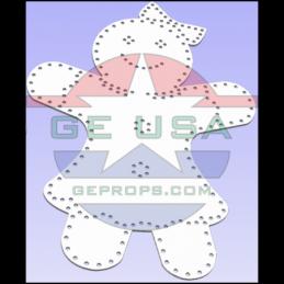 Gingerbread Girl | Gilbert Engineering Props