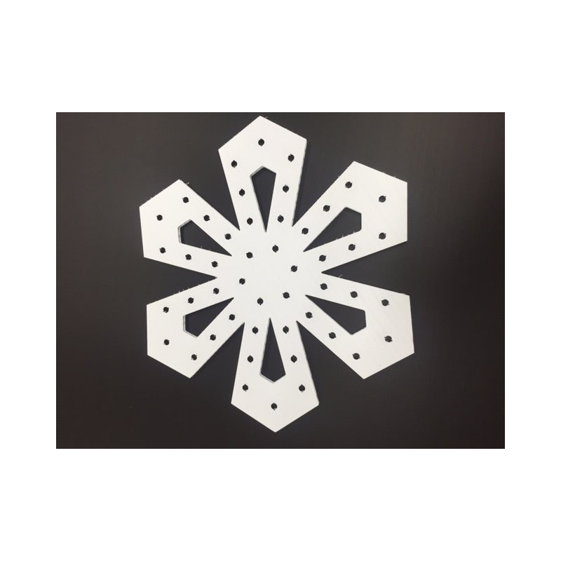 ChromaFlakes 24inch Diamond Shaped (48 nodes) | Snowflakes