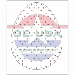 Easter Eggs - Zig Zag Filled | Gilbert Engineering Props